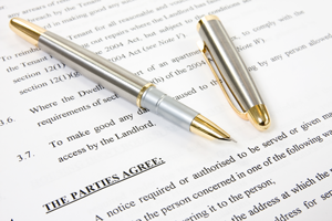 picture of inkpen and agreement