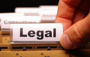 photograph of legal filing for legal advice letters
